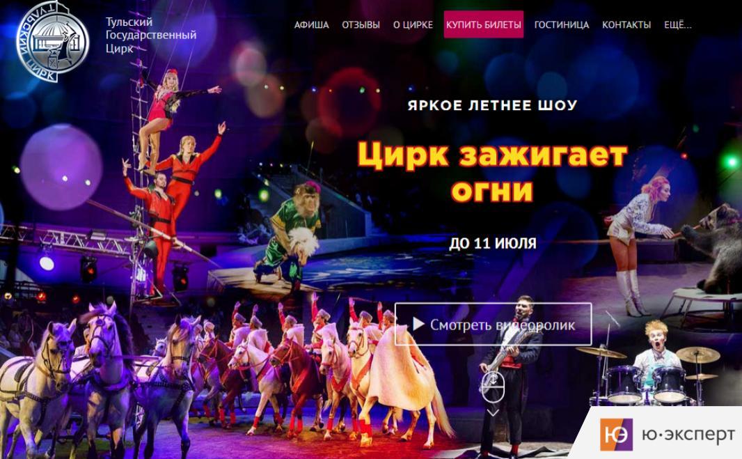 Юзабилити-экспертиза для компании Росгосцирк